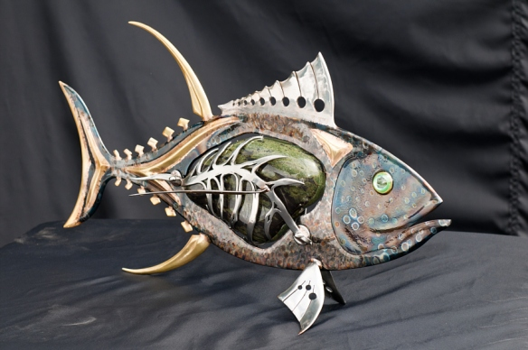 Wade Jackson Tuna in Metals and Stone