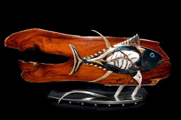 Kona Tuna made with Hawaiian kona wood