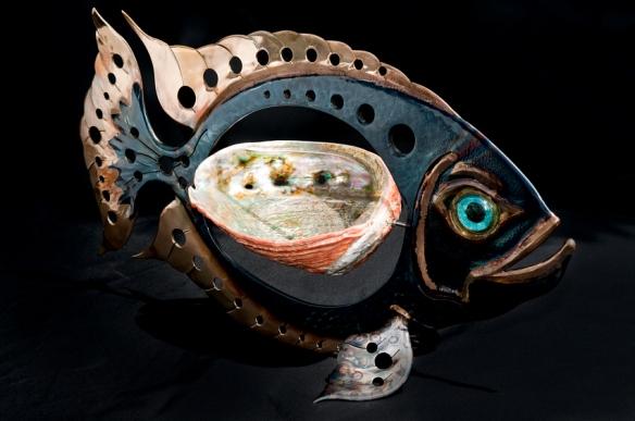 Tropical Fish Scuplture