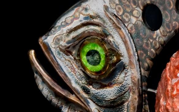 Closeup of Abalone Fish