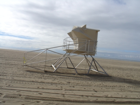 stainless steel lifeguard tower railing