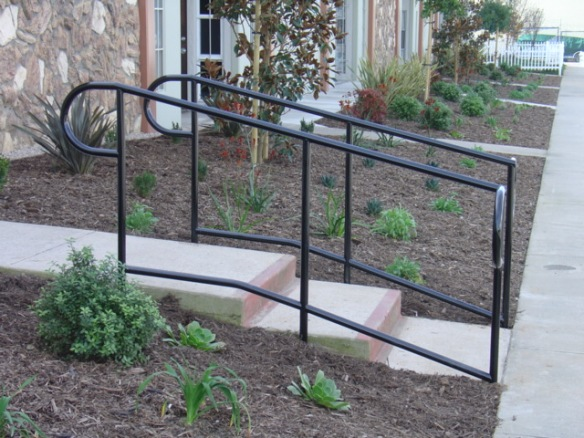 handicap access rail