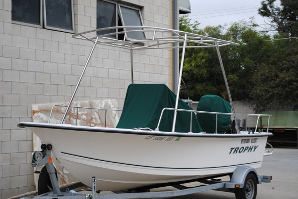 Suntop for Bayliner Trophy Boat