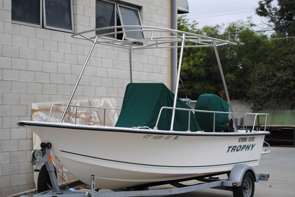 Suntop for Bayliner Trophy Boat
