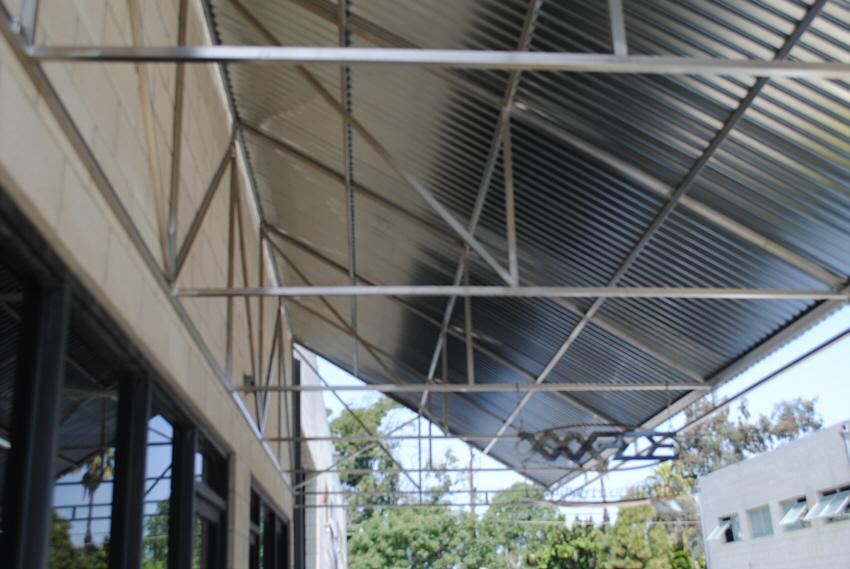 corrugated metal awning railmakers costa mesa